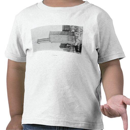 Seattle, WA - torre de Smith que construye 2 Camisetas