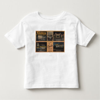 Seattle, WAAD for Clark's Restaurants Toddler T-shirt