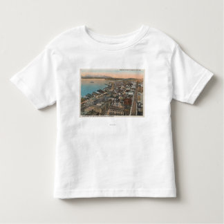 Seattle, WAAerial of Downtown Seattle & Bay T-shirt