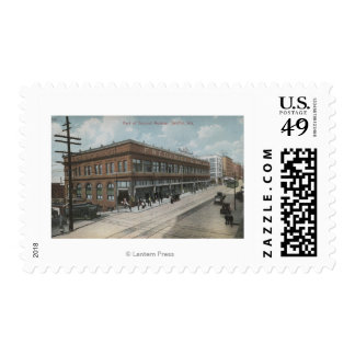 Seattle, WASecond Avenue Frederick and Nelson Stamp