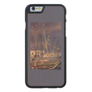 Seattle, Washington1962 World's Fair Poster Carved® Maple iPhone 6 Case