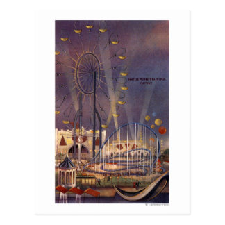 Seattle, Washington1962 World's Fair Poster Postcard