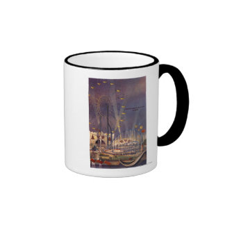 Seattle, Washington1962 World's Fair Poster Ringer Coffee Mug