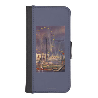 Seattle, Washington1962 World's Fair Poster Wallet Phone Case For iPhone SE/5/5s