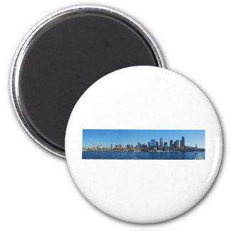 Seattle, Washington 2 Inch Round Magnet