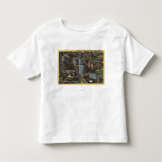 Seattle, Washington - Aerial of Smith Toddler T-shirt