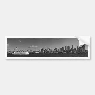 Seattle, Washington Etiqueta De Parachoque