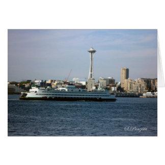 Seattle Washington Greeting Card