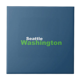 Seattle,Washington Ceramic Tile