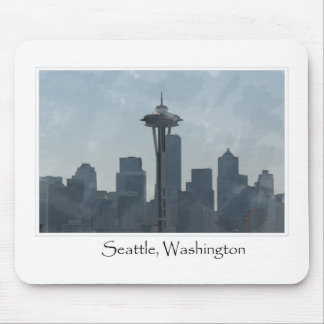 Seattle Washington Downtown Gifts Souvenir Mouse Pad