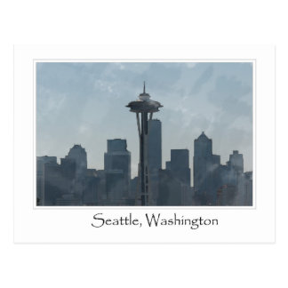 Seattle Washington Downtown Gifts Souvenir Postcard
