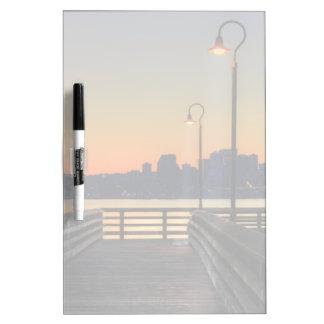 Seattle Washington Downtown Skyline Dry-Erase Board