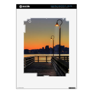 Seattle Washington Downtown Skyline iPad 3 Decal