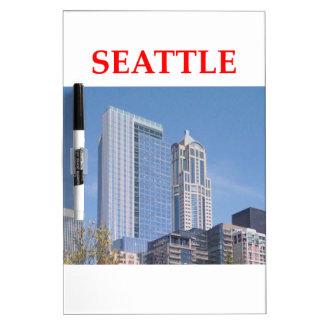 seattle washington dry erase white board