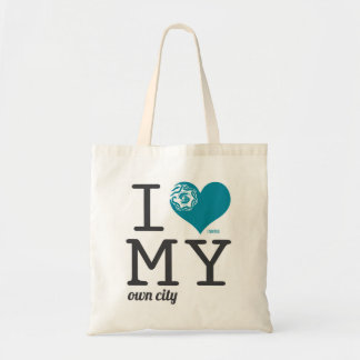 Seattle Washington I love my own city Canvas Bags