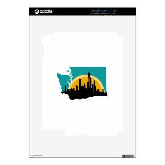Seattle Washington iPad 2 Decals