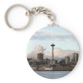 Seattle Washington Keychain