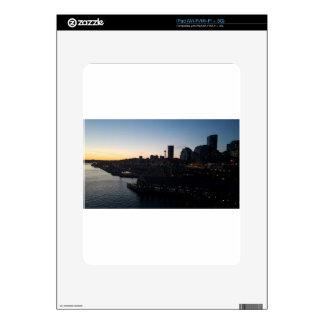 Seattle Washington Night Sky iPad Skin