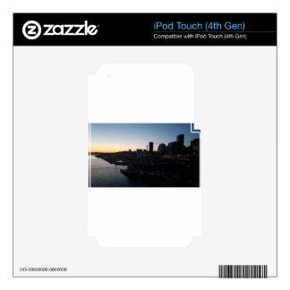 Seattle Washington Night Sky iPod Touch 4G Skin