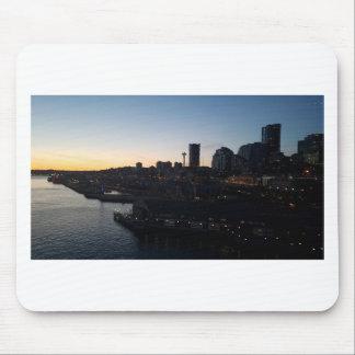 Seattle Washington Night Sky Mouse Pad