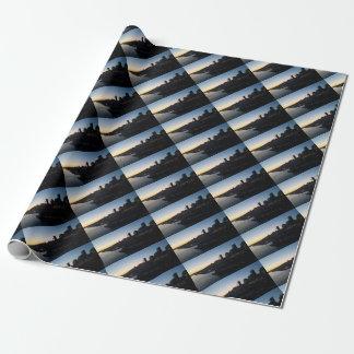 Seattle Washington Night Sky Wrapping Paper