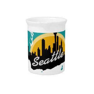 Seattle Washington Pitcher