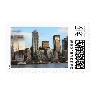 Seattle Washington Postage Stamp