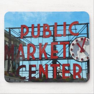 Seattle Washington Public Market Gifts Mouse Pad