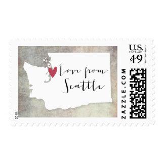 Seattle, Washington Sello Postal