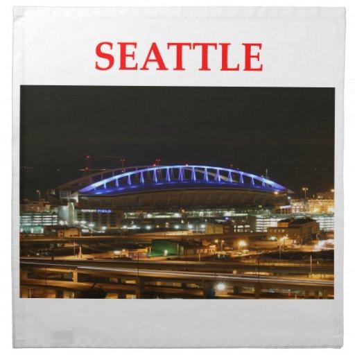 Seattle Washington Servilletas