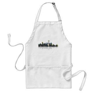 Seattle Washington Skyline Adult Apron