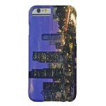 Seattle, Washington skyline at night Barely There iPhone 6 Case