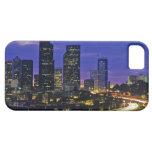 Seattle, Washington skyline at night iPhone 5 Case
