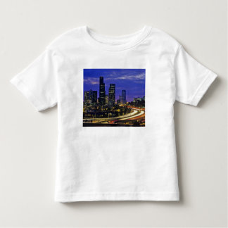 Seattle, Washington skyline at night Toddler T-shirt