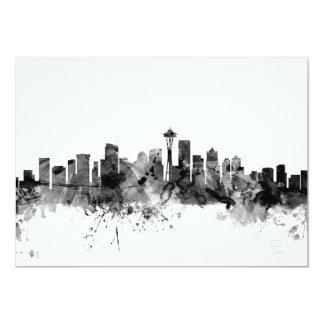 Seattle Washington Skyline Card