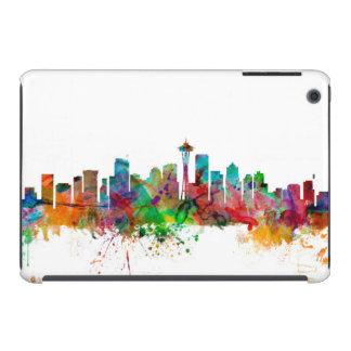 Seattle Washington Skyline iPad Mini Retina Case
