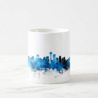 Seattle Washington Skyline Coffee Mug