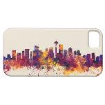 Seattle Washington Skyline iPhone SE/5/5s Case
