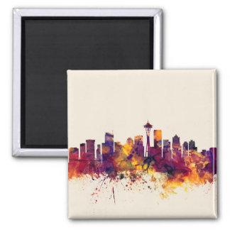 Seattle Washington Skyline Magnet
