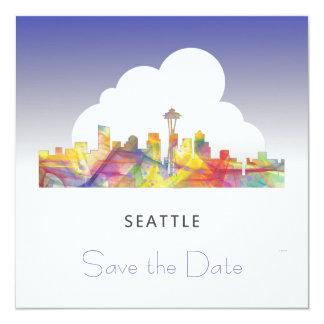 SEATTLE WASHINGTON SKYLINE WB1 - CARD