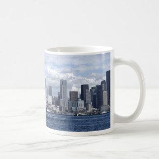 Seattle Washington Skyscrapers Coffee Mugs
