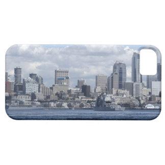 Seattle Washington Skyscrappers iPhone 5 Carcasa