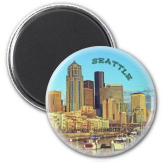 Seattle,Washington state Magnet