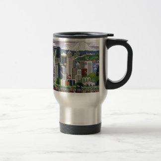 Seattle Washington Travel Mug