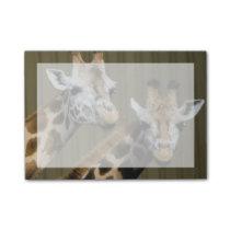 Seattle, Washington. Two giraffes Post-it Notes