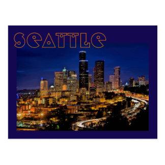 Seattle, Washington, U.S.A. The Emerald City Postcard