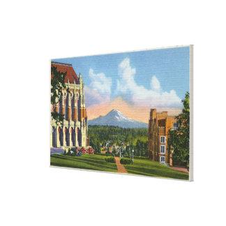 Seattle, Washington - University of Washington Canvas Print