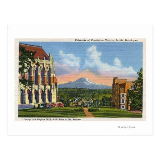 Seattle, Washington - University of Washington Post Cards
