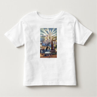 Seattle, Washington - View of Downtown Toddler T-shirt