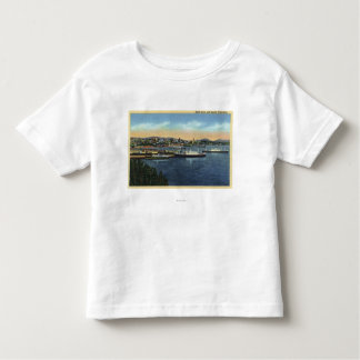 Seattle, Washington - View of Smith Toddler T-shirt